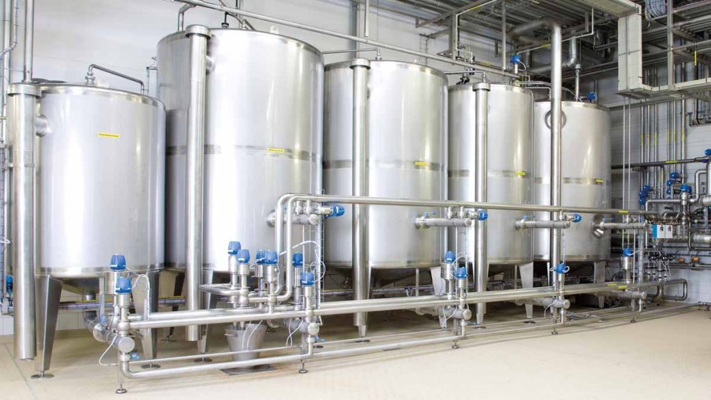 CIP-STAR™ System Cold Process Area - EFPS - European Food