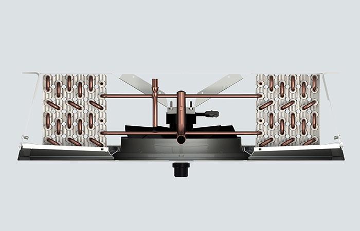 Kelvion Coomercial Air Cooler KDC - ventilator