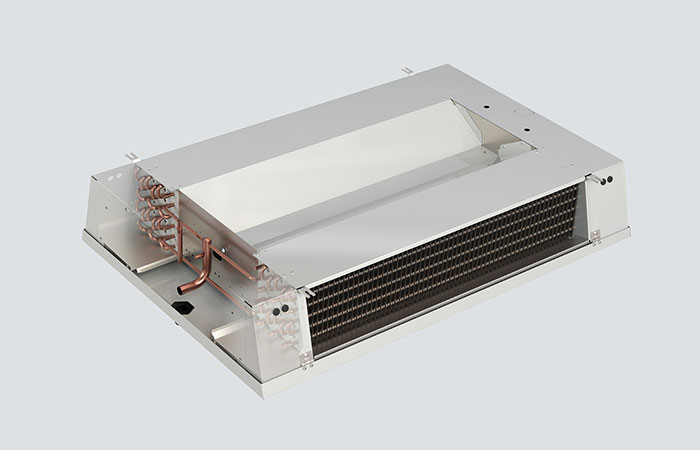 Kelvion Coomercial Air Cooler KDC - front view sidewise open