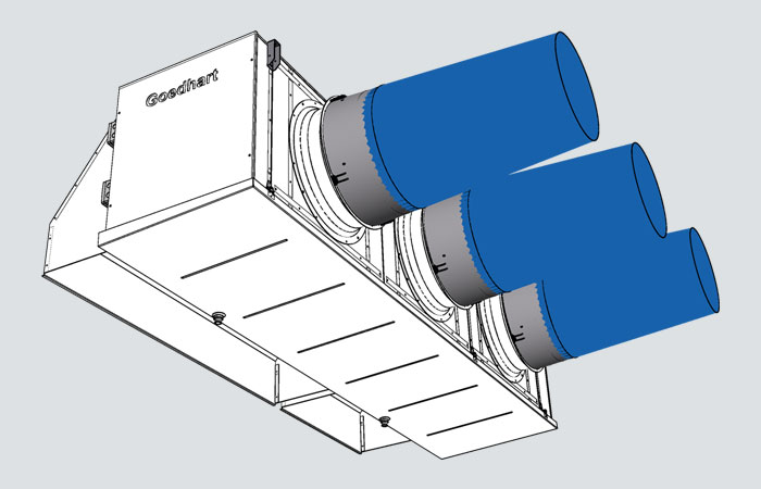 Kelvion Goedhart Customized Air Cooler VCI