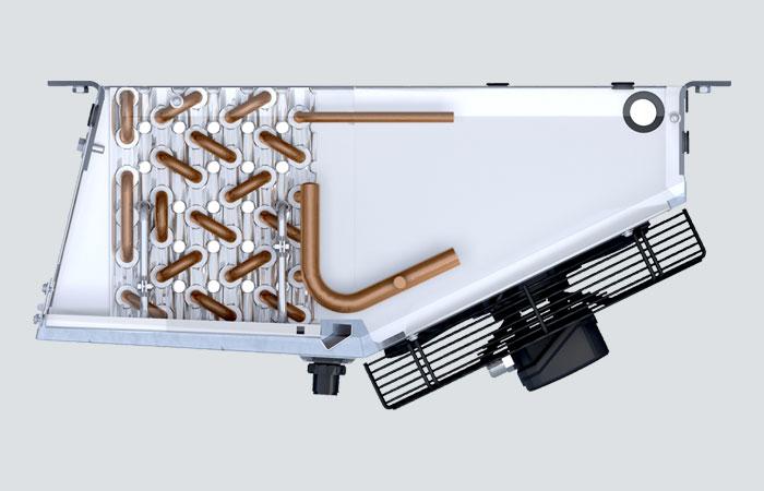 Kelvion Küba Commercial Air Cooler Compact DF