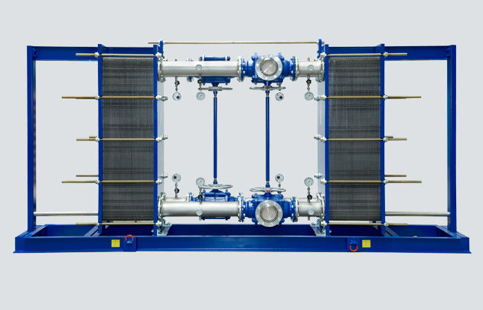 Gasketed Plate Heat Exchanger K°Skid