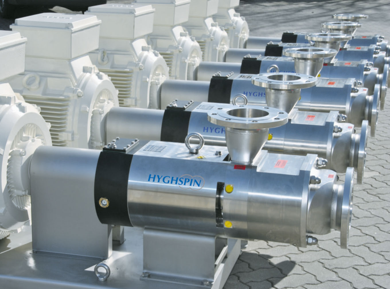 HYGHSPIN Extended transfer pumps